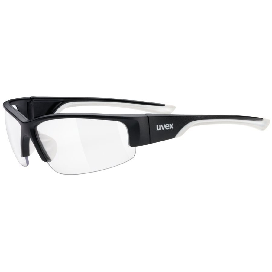 25b0897f75 Uvex SportStyle 215 Black White Cycling Sunglasses £19.99
