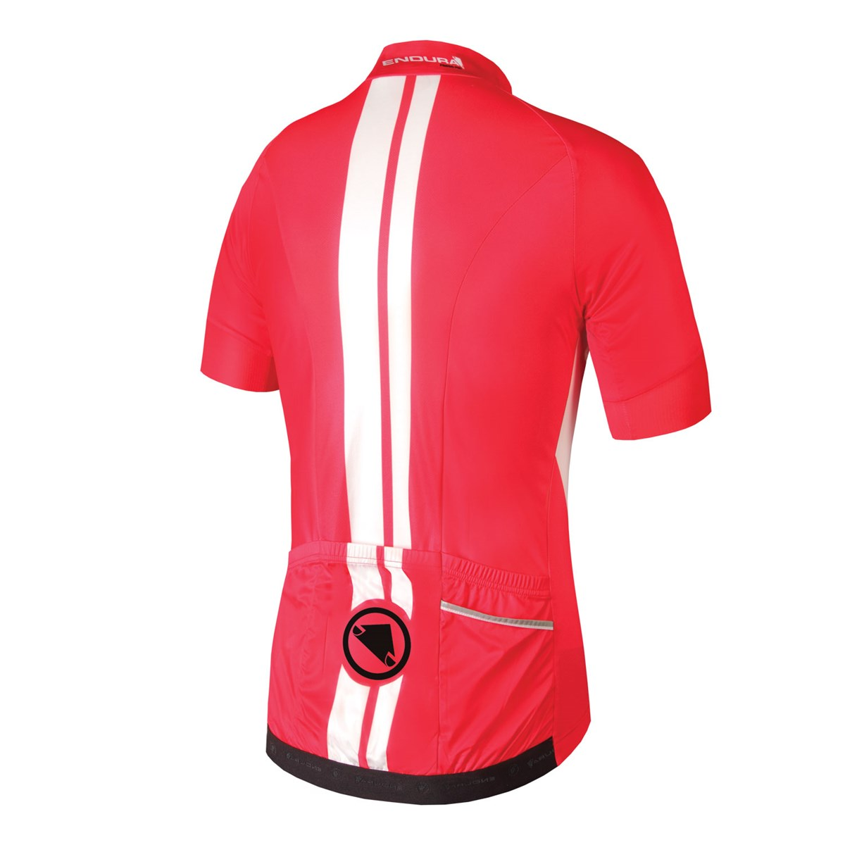 Endura FS260-Pro Jetstream Red Short Sleeve Cycling Jersey £77.99 6d9dc6b60