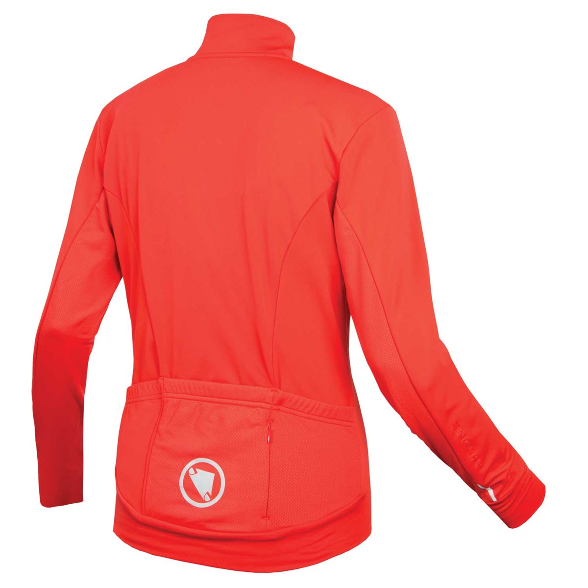 6f72d0640 Endura Womens Xtract Roubaix Coral Red Long Sleeve Cycling Jersey £59.99