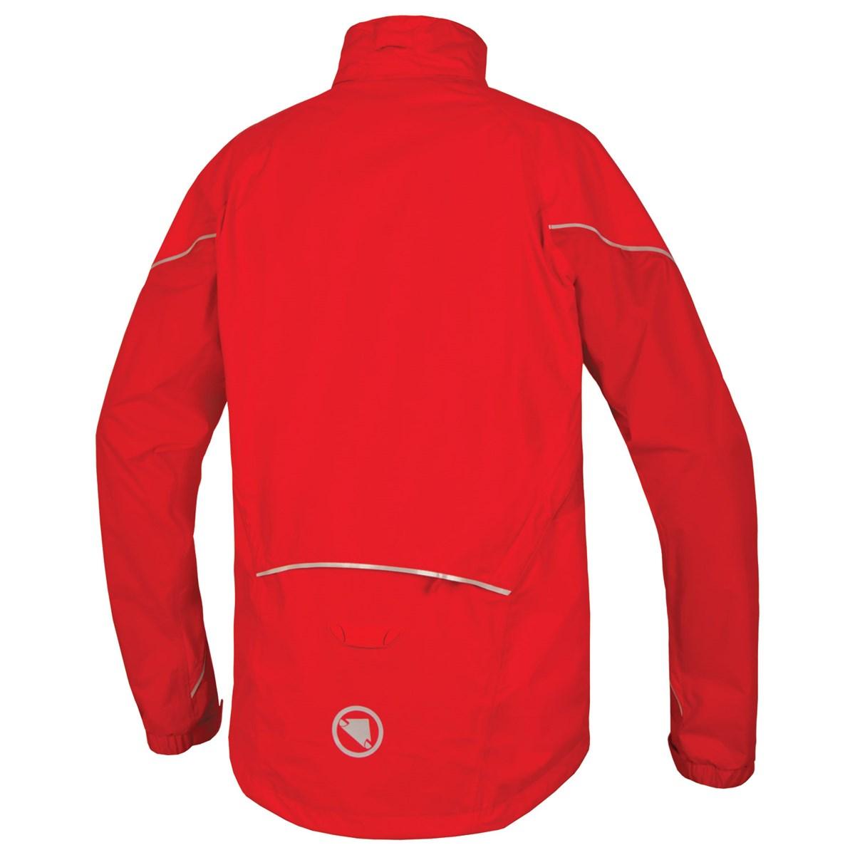 d1585ba41 Endura Hummvee Convertible Red Waterproof Cycling Jacket £99.99